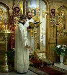 20 лет с первого богослужения после закрытия Подворья отметили торжественным богослужением на Петербургском подворье Коневской обители