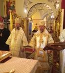 В рамках торжеств 125-летия Выборгской епархии 20 августа 2017 года состоялся визит архиепископа Финляндского и Карельского Льва, главы Финляндской Православной Церкви, в Коневский Рождество-Богородичный монастырь.