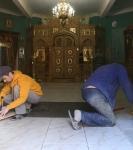 Обновление в храме