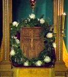 Праздник Происхождения Древ Креста Господня - Медовый Спас на  петербургском подворье Коневского монастыря