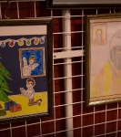 Поздравление детей и рождественская выставка_19