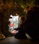Поздравление детей и рождественская выставка_22