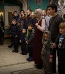 Поздравление детей и рождественская выставка_26