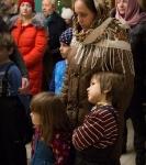 Поздравление детей и рождественская выставка_31