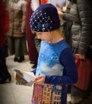 Поздравление детей и рождественская выставка_40