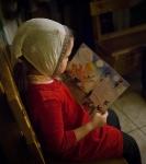 Поздравление детей и рождественская выставка_42