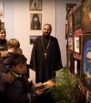 Поздравление детей и рождественская выставка_48