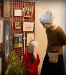 Поздравление детей и рождественская выставка_49