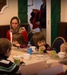 Поздравление детей и рождественская выставка_52