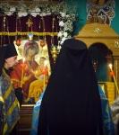 День памяти чтимой святыни Коневского подворья - иконы Божией Матери