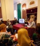 На СПб подворье Коневской обители состоялся открытый мастер-класс епархиальной пресс-службы и совещание сотрудников по информационному служению_1