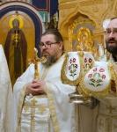 В праздник Вознесения Господня  на петербургском подворье Коневского Рождество-Богородичного монастыря совершены праздничные богослужения.