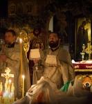 Вселенская Мясопустная родительская суббота на подворье Коневского монастыря