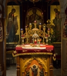 Праздник обретения мощей преподобного Арсения на петербургском подворье