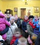 Настоятель подворья Коневской обители в Петербурге поздравил с 40-летием настоятеля кафедрального собора Рождества Пресвятой Богородицы г. Приозерска _5