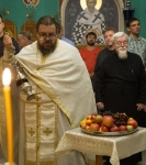 Преображение Господне торжественно встретили на петербургском подворье Коневской обители.
