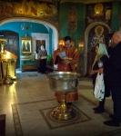 Празднование Преполовения Пятидесятницы состоялось на петербургском подворье Коневской обители