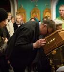Наместник Коневской обители совершил молебен перед мощами прп.Арсения Коневского_14