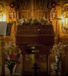 Наместник Коневской обители совершил молебен перед мощами прп.Арсения Коневского_1