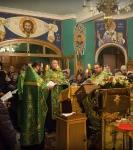 Наместник Коневской обители совершил молебен перед мощами прп.Арсения Коневского_2