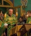 Наместник Коневской обители совершил молебен перед мощами прп.Арсения Коневского_3