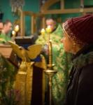 Наместник Коневской обители совершил молебен перед мощами прп.Арсения Коневского_6