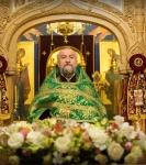 Наместник Коневской обители совершил молебен перед мощами прп.Арсения Коневского