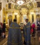 Духовенство Выборгской епархии совершило богослужения перед чудотворной иконой
