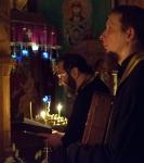 В Прощеное воскресенье на подворье Коневского монастыря совершен Чин прощения