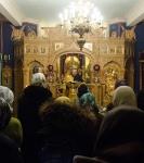 Богослужения дня памяти святителя Николая Чудотворца на петербургском подворье Коневского монастыря