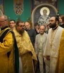 Молебен на начало учебного года совершен на петербургском подворье Коневской обители