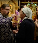 Первое Таинство Соборования Великим постом совершили на Коневском подворье в Петербурге_13