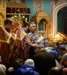 Первое Таинство Соборования Великим постом совершили на Коневском подворье в Петербурге_17