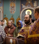 Первое Таинство Соборования Великим постом совершили на Коневском подворье в Петербурге_1
