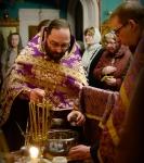 Первое Таинство Соборования Великим постом совершили на Коневском подворье в Петербурге