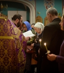Первое Таинство Соборования Великим постом совершили на Коневском подворье в Петербурге_7