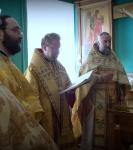 Епископ Выборгский и Приозерский Игнатий совершил Божественную литургию на петербургском подворье Коневского Рождество-Богородичного монастыря