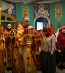 Божественную литургию Фоминой недели на петербургском подворье Коневской обители возглавил наместник монастыря _10