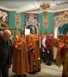 Божественную литургию Фоминой недели на петербургском подворье Коневской обители возглавил наместник монастыря _13