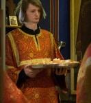 Божественную литургию Фоминой недели на петербургском подворье Коневской обители возглавил наместник монастыря _14