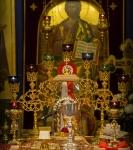 Божественную литургию Фоминой недели на петербургском подворье Коневской обители возглавил наместник монастыря _15