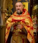 Божественную литургию Фоминой недели на петербургском подворье Коневской обители возглавил наместник монастыря _18