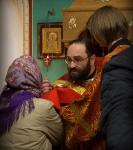 Божественную литургию Фоминой недели на петербургском подворье Коневской обители возглавил наместник монастыря _20
