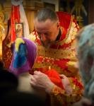 Божественную литургию Фоминой недели на петербургском подворье Коневской обители возглавил наместник монастыря _21