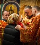 Божественную литургию Фоминой недели на петербургском подворье Коневской обители возглавил наместник монастыря _22