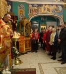 Божественную литургию Фоминой недели на петербургском подворье Коневской обители возглавил наместник монастыря _26
