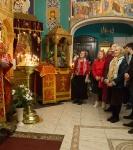 Божественную литургию Фоминой недели на петербургском подворье Коневской обители возглавил наместник монастыря _27