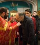 Божественную литургию Фоминой недели на петербургском подворье Коневской обители возглавил наместник монастыря _28
