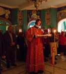 Божественную литургию Фоминой недели на петербургском подворье Коневской обители возглавил наместник монастыря _4