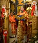 Божественную литургию Фоминой недели на петербургском подворье Коневской обители возглавил наместник монастыря _6